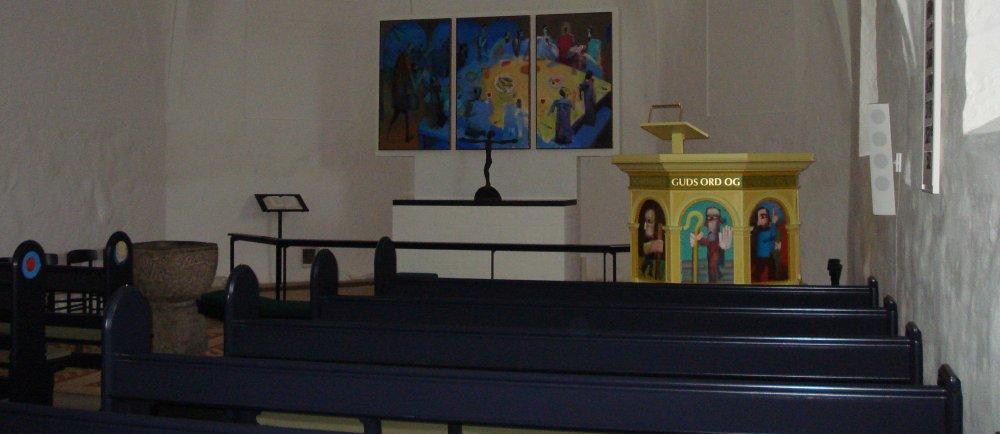 altertavle i videbæk kirke