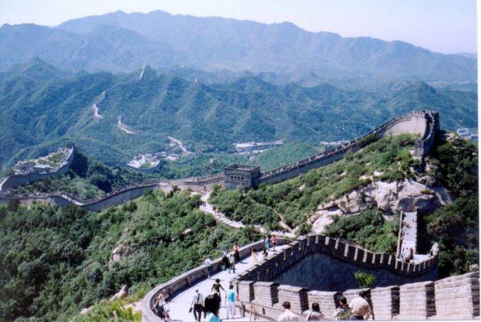 Den Kinesiske Mur Og Minggravene