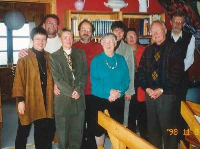 Birgit Haaning og hendes klasse