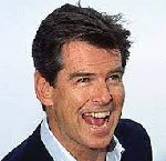 Pierce Brosnan, my name is Bond, James Bond