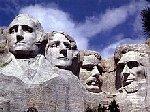 Monumentet over amerikanske præsidenter, skabt af John Borglum, som var af dansk afstamning