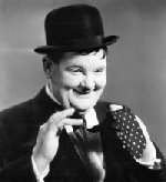 Oliver Hardy, Gokke