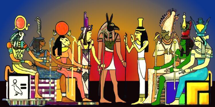 egyptisk mytologi guder