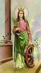 Den Hellige Katharina af Alexandria