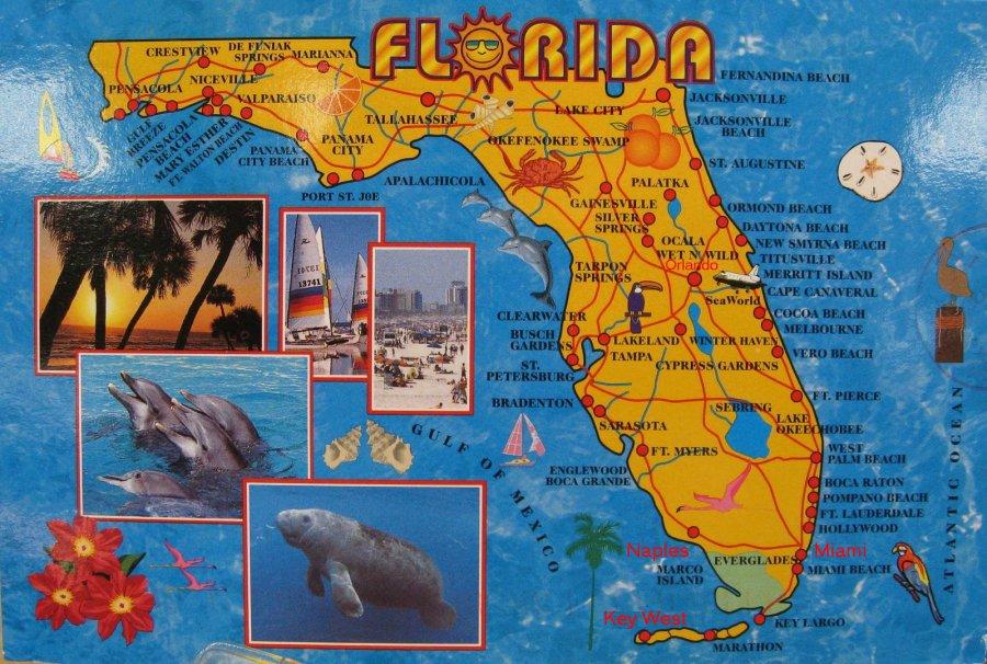 Forrygende Feriedage I Florida Miami Orlando Og Key West