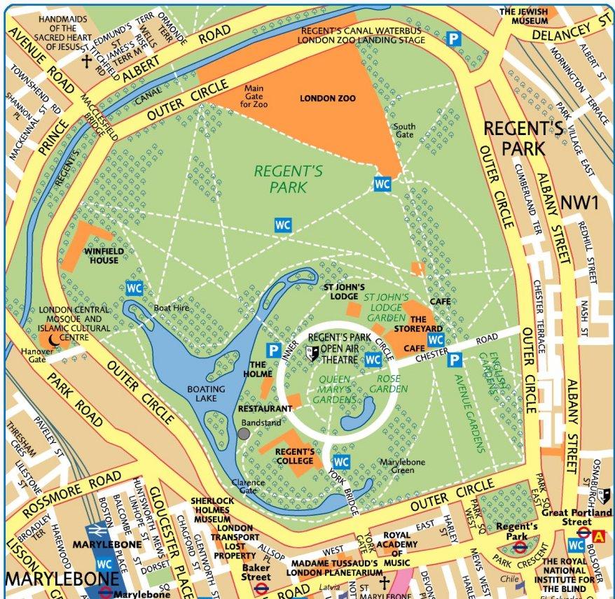 Besog Regent Park Se London Central Mosque Og Den Danske Kirke