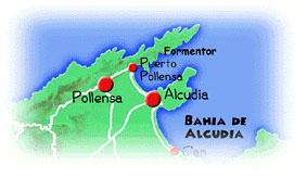 Malllorca Omegnen Ved Alcudia