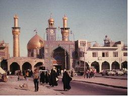 Husein-moskeen, opført til minde om Husein, som faldt i slaget ved Kerbala