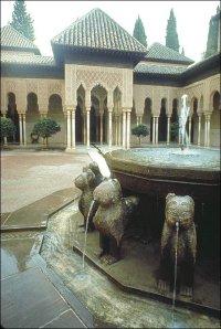 Løvegården i Alhambra