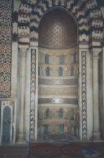 Mihrab i en muslimsk moske