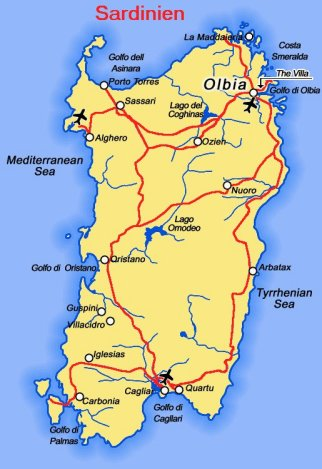 8 Dage I Alghero Sardinien