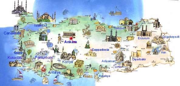 Side Tyrkiet Kort Kort Tyrkiet Side Det Vestlige Asien Asien